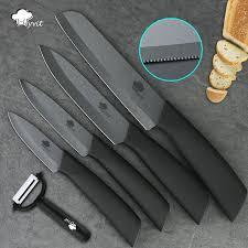 couteau cuisine ceramique couteau en céramique 3 4 5 6 pouces couteau à dentelé