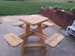 2 person picnic table woodworking pattern crafts pinterest