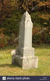 headstones grave markers cemetery headstone grave marker obelisk marble watts family
