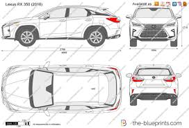 2016 lexus rx 350 purchase price the blueprints com vector drawing lexus rx 350