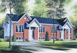 flexible two family house plan 21244dr architectural designs