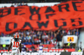 cleveland browns and thanksgiving an infrequent pairing