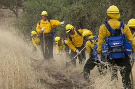Wildfire Fighting Boots by California Army Guard Soldiers Train To Battle Blazes On The Fire