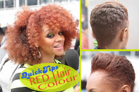 Coloring Natural African American Hair Bite Size Tips Dying Afro Relaxed Hair Red Youtube