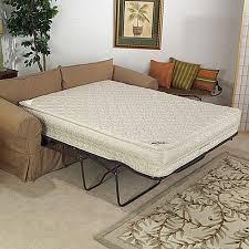 chemical free sleeper sofa replacement mattress for sleeper sofa georgi furniture inside
