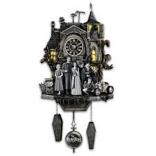 Grandpa Clock Amazon Com The Munsters Cuckoo Clock With Flickering Lights And