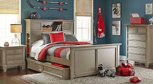 bookcase bedroom set belmar gray 5 pc twin bookcase bedroom teen bedroom sets colors