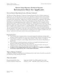 Pharmacy Technician Sample Resume by Pharmacy Technician Duties For Resume Resume For Your Job