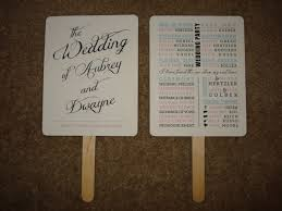 wedding program card stock fan card stock program fan created in adobe illustrator and