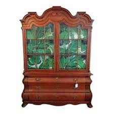 Antique Brass Display Cabinet Vintage U0026 Used China And Display Cabinets Chairish