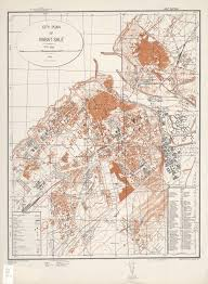 Tanger Map Morocco City Plans Perry Castañeda Map Collection Ut Library