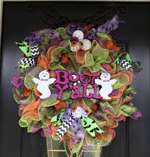 cousins craft weekend u2013 part 1 u2013 deco mesh ruffle halloween wreath