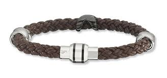 braided leather bracelet women images Men 39 s and women 39 s leather and steel fashion bracelets boomer png
