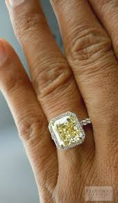 plus size engagement rings best 25 canary rings ideas on yellow