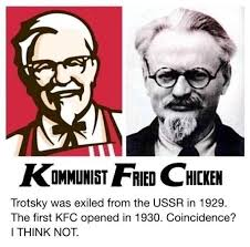 Colonel Sanders Memes - democrats are right russia is behind kfc colonel sanders was a