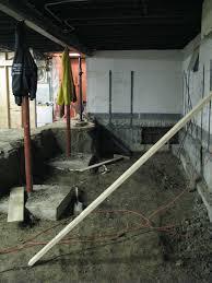 Basement Leak Repair Toronto What Is Basement Underpinning Used For Nusite Waterproofing