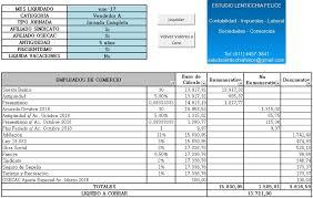 media jornada empledo de comercio 2016 planilla excel para calcular sueldos de empleados de comercio enero