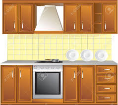 Kitchen Cabinet Art Kitchen Cabinets Clipart Collection
