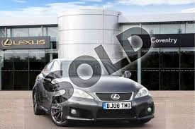 lexus f 5 0 sedan v8 lexus is f 5 0 v8 is f 4dr auto for sale at lexus coventry ref