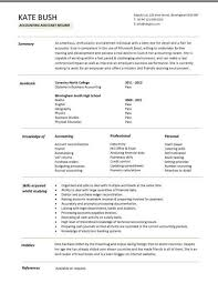 purchase resume assistant accountant cv sales and purchase ledger cash accounting