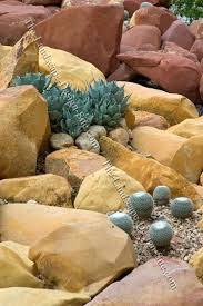 Desert Rock Garden Ideas Xeriscape Sloped Yard Like This Is A Way To Terrace For