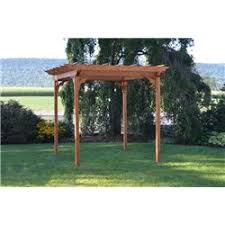 5 Ft Patio Swing With Cedar Pergola Create by Pergolas Furniture Barn Usa