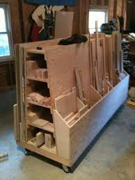 Wood Storage Rack Plans by I Have A Wood Storage Problem So I Built A Lumber Cart By