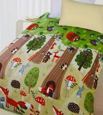 Kids Single Duvet Cover Sets The Big Tree Quilt Cover Set Animal Bedding Kids Bedding Dreams