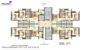 lodha palava central park by lodha group 1 2 3 bhk flats for clara b lodha palava central park dombivli west mumbai