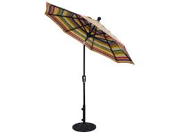 Obravia Treasure Garden Umbrella by Treasure Garden Market Aluminum 7 5 U0027 Octagon Push Button Tilt