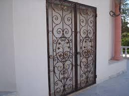 porte d ent de cuisine cuisine fer forgã sef tunisie porte d entrée fer forgé moderne