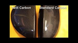 1k Carbon Fiber Cloth Comparing Real Carbon Fiber Patterns The Difference Between Twill