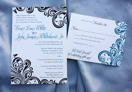 post wedding reception invitations black teal modern swirl wedding reception invitations emdotzee