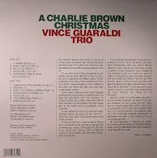 peanuts christmas soundtrack vince guaraldi trio a brown christmas soundtrack vinyl