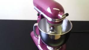 Purple Kitchenaid Mixer by Mikser Kitchenaid Artisan Mixer Na 220 Volt Youtube