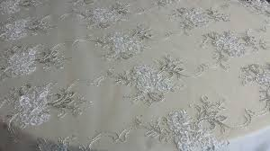 silver lace table overlay table linens linens and beyond