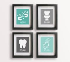 stylish fresh bathroom wall art and decor wall art ideas for