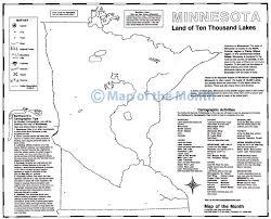 Minnesota On Map Minnesota Map Maps For The Classroom