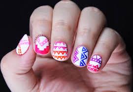 magically polished nail art blog alphabet nail art challenge a