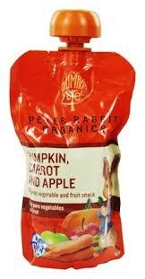 rabbit organics buy rabbit organics veg and fruit puree 100 pumpkin