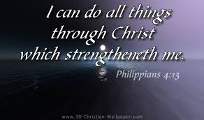 Inspirational Christian Memes - i can do all things through christ which strengtheneth me