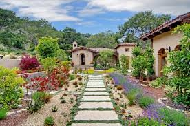 tuscan garden home design ideas and pictures