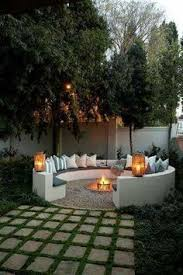 Backyard Landscaping With Fire Pit - 30 unique backyard ideas to steal for your house fire pit