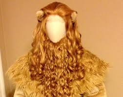 cowardly lion costume cowardly lion etsy