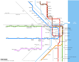 Chicago Transit Authority Map by Subway Maps Never Stop Designs Are Always In Motion Curbed Chicago