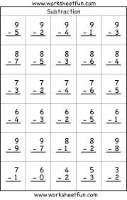 addition and subtraction worksheet for kindergarten worksheets