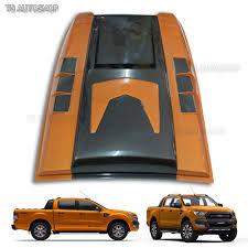 Ford Ranger Truck Parts - orange turbo scoop fake cover for ford ranger facelift px2 mk2