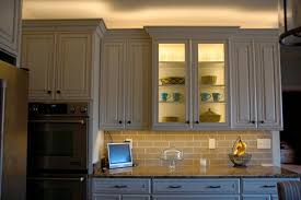 how to put lights above cabinets installing lighting on a glass cabinet inspiredled