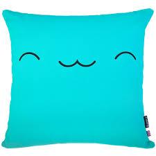 Blue Union Jack Cushion Union Jack Sofa Cushion Designer British Flag Pillow
