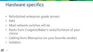 Craigslist Bakers Rack How To Build A Virtual Test Lab For Sql Server